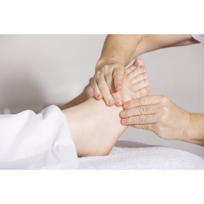 Reflexologie des pieds et aromathérapie
